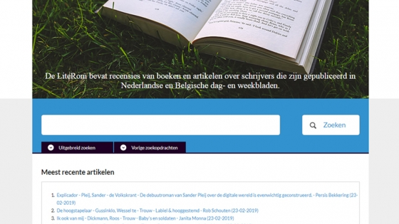 Digitale collecties van literatuur